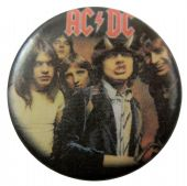 AC/DC - 'Highway to Hell' Button Badge